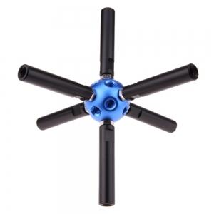 Magic Ball Multi Adapter 3/8 inch 18 hole สำหรับ ขาตั้งไฟ ไฟสตูดิโอ ขาตั้งกล้อง Studio Tripod Light Stand bracket