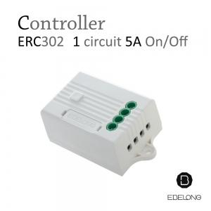 สวิทช์ไฟไร้สาย ไม่ใช้ถ่าน ไม่ต้องเดินสาย ไม่ต้องกรีดผนัง EBELONG controller 1 circuit ERC302 5A On/Off
