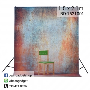 ฉากถ่ายรูป 1.5 x 2.1m BD-1521001 photography studio video backdrop background screen durable non-glare.