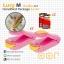 ซีลถุงแบบพกพา Lucy M mini portable handy plastic bag sealer OOP - Pink สีชมพู 2 อัน + ถ่าน AA 4 ก้อน Panasonic