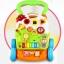 รถผลักเดิน รถหัดเดิน รถผลักเดินล้อยางหนืด Dibao bear piano walker youleen thumbnail 3
