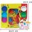แป้งโดว์กระปุก 8 กระปุก คละสี พร้อมแม่พิมพ์ตัวเลข 0-9 และเครื่องหมาย ใน SET thumbnail 1