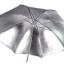 ร่มสะท้อน ไฟสตูดิโอ แบบ 2 หลอด 33 นิ้ว inch GODOX silver - Black