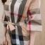 ชุดจั้มสูท ผ้าคอทต้อนเกาหลีทอลายเบอเบอรี่ คอ V thumbnail 12