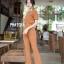 ุดเซ็ทเสื้อ+กางเกงเอวสูงขาบาน thumbnail 9