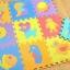 EVA แผ่นโฟมปูพื้น แผ่นโฟมปูพื้น ลายสัตว์ (คละสี/คละลาย)ขนาด 30*30 cm (16 แผ่น) thumbnail 1