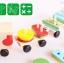 ของเล่นไม้ เสริมพัฒนาการ รถไฟไม้ขนาดกลาง( 37 cm.) Wooden Toys thumbnail 1
