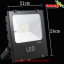 LED Solar Flood Light 50W พร้อมแบตเตอรี่ 7800mAh thumbnail 1