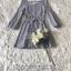 ชุดเดรสผ้า Cotton เนื้อผ้าทอลายริ้วสีฟ้าลายขวาง thumbnail 5