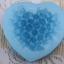 แม่พิมพ์ซิลิโคนหัวใจดอกไม้ 100g 6.4*5.7*3 cm thumbnail 3