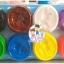 แป้งโดว์กระปุก 8 กระปุก คละสี (400 กรัม) thumbnail 2