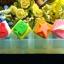 แม่พิมพ์ซิลิโคน สี่เหลี่ยม คละลาย 4 ช่อง thumbnail 1