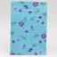 ซองซิปลายดอกไม้สีม่วง พื้นหลังสีฟ้า ขนาด 8x12 cm. 100 ชิ้น thumbnail 1