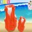 เสื้อชูชีพ เด็ก สีส้ม Intex Childs Inflatable Swimming Life Jacket thumbnail 1