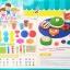 ชุดแป้งโดว์ - Crispy Doughnuts(ใหญ่) thumbnail 1