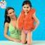 เสื้อชูชีพ เด็ก สีส้ม Intex Childs Inflatable Swimming Life Jacket thumbnail 2