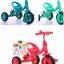 รถสามล้อเด็ก รถจักรยานสามล้อเด็ก มีกระดิ่ง มีกระป๋องใส่น้ำ (มีสีชมพูเท่านั้น) thumbnail 1