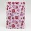 ซองซิปลายดอกกุหลาบสีแดงชมพูพื้นหลังสีขาว ขนาด 10x15 cm. 100 ชิ้น thumbnail 1