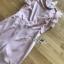 ชุดจั๊มสูทผ้าเครปสีชมพูอ่อน ตกแต่งระบายผ้าชีฟอง thumbnail 9