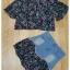 ชุดเซ็ทเสื้อ+กระโปรง เสื้อผ้าชีฟองลายดอกเนื้อดี เสื้อทรงน่ารัก thumbnail 7