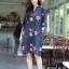 ุเดรสผ้าฝ้ายลินินเกาหลี thumbnail 2