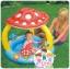 สวนน้ำเห็น หรรษา Mushroom Baby Paddling Pool 57404NP ขนาด 102cm x 89cm thumbnail 1