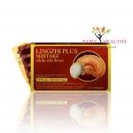 Lingzhi Plus Shiitake หลินจือ พลัส ชิตาเกะ บรรจุ 30 แคปซูล [กล่องเล็ก] ราคา 440 บาท ส่งฟรี