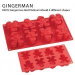 FR072 Gingerman Red Platinum Mould 4 different shapes