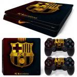 Sticker PS4 Slim - Bacelona 2
