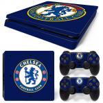 Sticker PS4 Slim - Chelsea