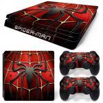 Sticker PS4 Slim - Spider Man 1