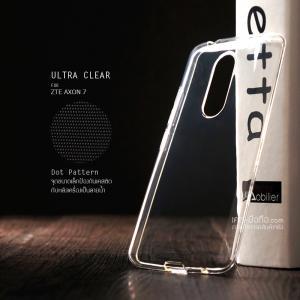 เคส ZTE Axon 7 เคสนิ่ม ULTRA CLEAR พร้อมจุดขนาดเล็กป้องกันเคสติดกับตัวเครื่อง สีใส
