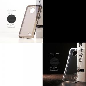 [ แพ็คคู่ ] เคส Moto E4 เคสนิ่ม ULTRA CLEAR สีใสและดำใส
