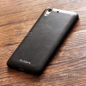เคส Huawei Y6II เคสนิ่ม คุณภาพ พรีเมียม ลายหนัง สีดำ (Classic)