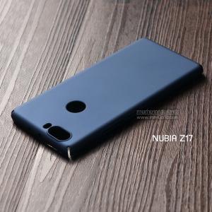 เคส Nubia Z17 เคสแข็งสีเรียบ คลุมขอบ 4 ด้าน สีน้ำเงิน