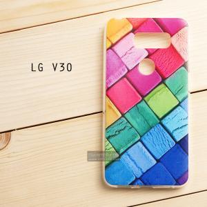 เคส LG V30 เคสนิ่ม TPU พิมพ์ลายแบบที่ 4