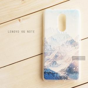 เคส Lenovo K6 Note เคสนิ่ม TPU พิมพ์ลาย แบบที่ 2