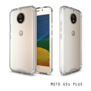 เคส Moto G5s Plus เคส Hybrid ฝาหลังอะคริลิคใส ขอบยางกันกระแทก สีใส