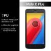 ฟิล์มกันรอย Moto C Plus แบบใส (วัสดุ TPU)