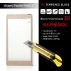 (มีกรอบ 3D แบบคลุมขอบ) กระจกนิรภัย-กันรอยแบบพิเศษ ขอบมน 2.5D ( Xiaomi Redmi Note 4 ) ความทนทานระดับ 9H สีทอง