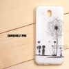 เคส Samsung Galaxy J7 Pro เคสนิ่ม TPU พิมพ์ลาย แบบที่ 4