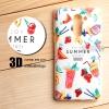 เคส Huawei GR5 2017 เคสนิ่มพิมพ์ลายนูน สามมิติ 3D แบบ 21 Enjoy Summer Cocktails