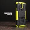 เคส Lenovo Vibe P1m เคสบั๊มเปอร์ กันกระแทก Defender สีเขียวอ่อน
