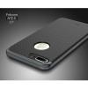 """เคส iPhone 7 Plus (5.5"""") เคส iPaky Hybrid Bumper เคสนิ่มพร้อมขอบบั๊มเปอร์ สีดำขอบเทา"""