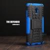 เคส Lenovo Vibe P1 กรอบบั๊มเปอร์ กันกระแทก Defender สีน้ำเงิน (เป็นขาตั้งได้)