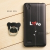 เคส Vivo Y31 เคสนิ่ม TPU พิมพ์ลายนูน (ขอบดำ) + แหวนมือถือ แบบที่ 3