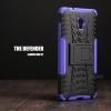 เคส Lenovo Vibe P1 กรอบบั๊มเปอร์ กันกระแทก Defender สีม่วง (เป็นขาตั้งได้)