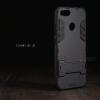 เคส Xiaomi Mi A1 เคสขอบกันกระแทก Defender (พร้อมขาตั้ง) สีดำ