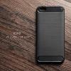 เคส Vivo V5 / V5s / V5 Lite เคสนิ่มเกรดพรีเมี่ยม (Texture ลายโลหะขัด) กันลื่น ลดรอยนิ้วมือ สีดำ