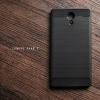 เคส Lenovo PHAB 2 เคสนิ่มเกรดพรีเมี่ยม (Texture ลายโลหะขัด) กันลื่น ลดรอยนิ้วมือ สีดำ